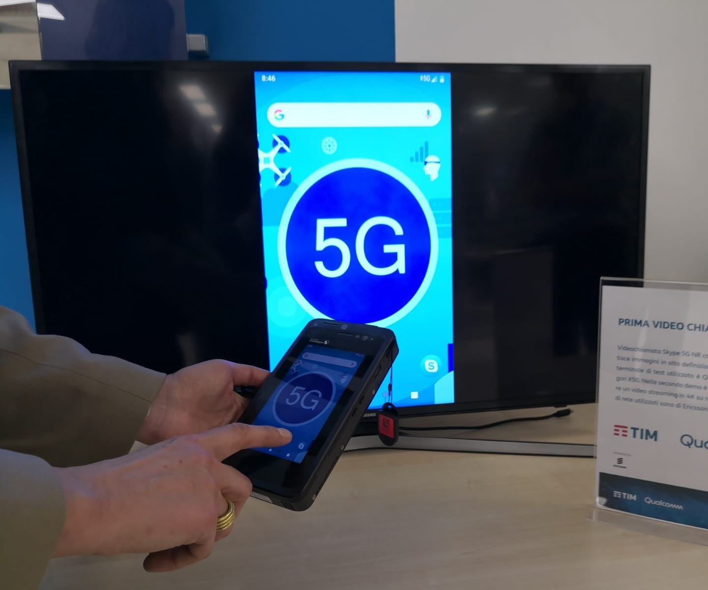 <strong>TIM Innovation Hub: il 5G toccato con mano</strong>